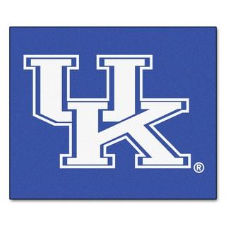 Fanmats Machine-Made University of Kentucky Blue Nylon Tailgater Mat (5' x 6')
