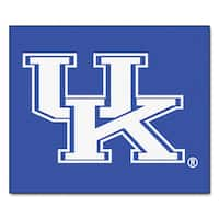 Fanmats Machine-Made University of Kentucky Blue Nylon Tailgater Mat (5' x 6')