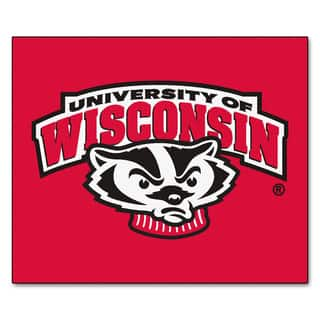 Fanmats Machine-Made University of Wisconsin Red Nylon Tailgater Mat (5' x 6')|https://ak1.ostkcdn.com/images/products/10100801/P17241948.jpg?impolicy=medium