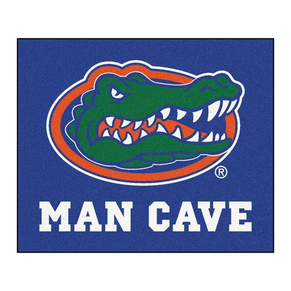 Fanmats Machine-Made University of Florida Blue Nylon Man Cave Tailgater Mat (5' x 6')