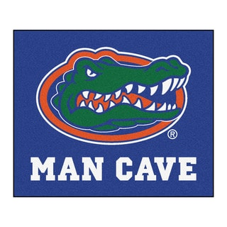 Fanmats Machine-Made University of Florida Blue Nylon Man Cave Tailgater Mat (5' x 6')