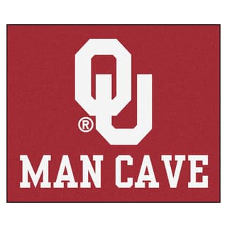 Fanmats Machine-Made University of Oklahoma Red Nylon Man Cave Tailgater Mat (5' x 6')|https://ak1.ostkcdn.com/images/products/10100925/P17242052.jpg?impolicy=medium