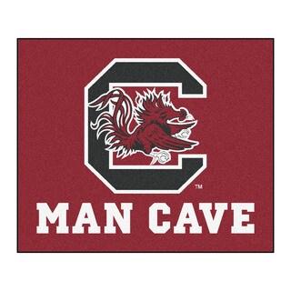 Fanmats Machine-Made University of South Carolina Red Nylon Man Cave Tailgater Mat (5' x 6')