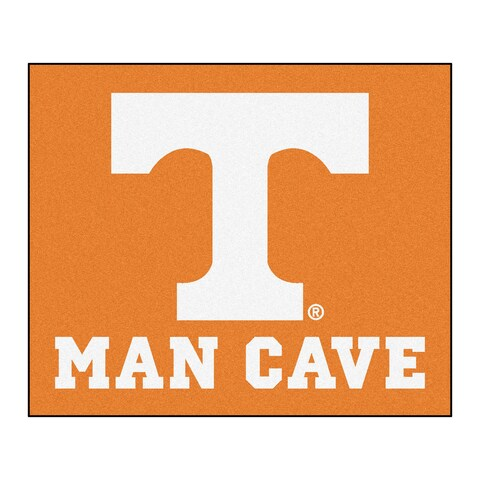Fanmats Machine-Made University of Tennessee Orange Nylon Man Cave Tailgater Mat (5' x 6')