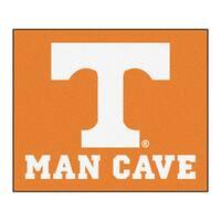 Fanmats Machine-Made University of Tennessee Orange Nylon Man Cave Tailgater Mat (5' x 6')
