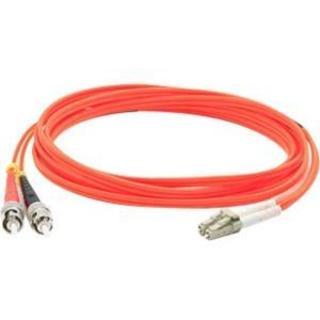 AddOn 30m Multi-Mode Fiber (MMF) Duplex ST/LC OM1 Orange Patch Cable