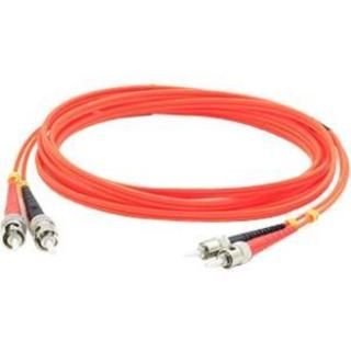 AddOn 15m Multi-Mode fiber (MMF) Duplex ST/ST OM1 Orange Patch Cable