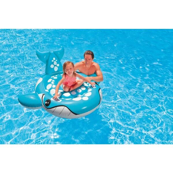 Intex Bashful Blue Whale Ride-On