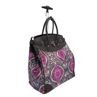 Fashion Tai Mahal Foldable Rolling Carry On 14-inch Laptop/Tablet Tote Bag (2 options available)