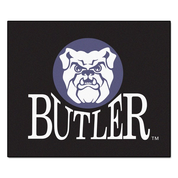 Fanmats Machine-Made Butler University Black Nylon Tailgater Mat (5' x 6')