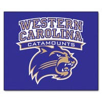 Fanmats Machine-Made Western Carolina University Blue Nylon Tailgater Mat (5' x 6')