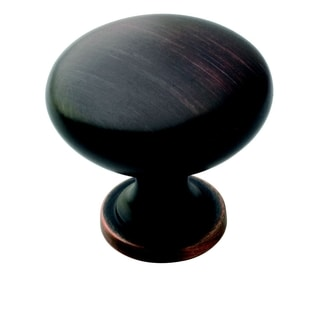 Amerock Traditional 1.25-inch Oil Rubbed Bronze Cabinet Knob (Pack of 25)