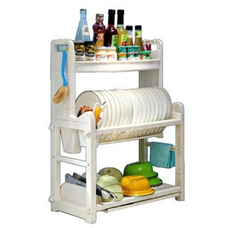 Dish Holder and Spice Rack