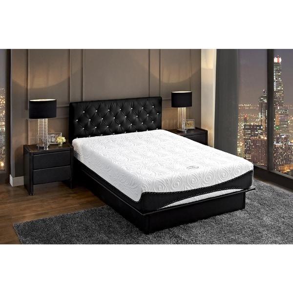 DHP Signature Sleep 12 inch King size Aura Luxury Gel
