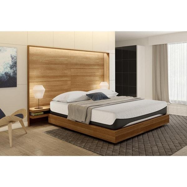 Shop Signature Sleep Bliss 12 Inch King Size Luxury Gel Memory Foam