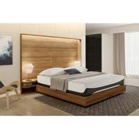 Signature Sleep Bliss 12-inch King-size Luxury Gel Memory Foam Mattress with CertiPUR-US Certified Foam - White