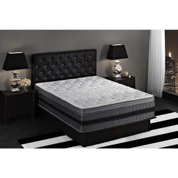 Signature Sleep 12 Inch Memory Foam Mattress King ... Sleep 14-inch King-size Justice Hybrid Pocket Coil and Gel Memory Foam