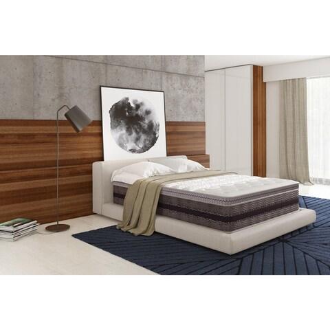 Signature Sleep Elite 14-inch Independently Encased Coil & Gel Memory Queen Foam Mattress with CertiPUR-US Certified Foam