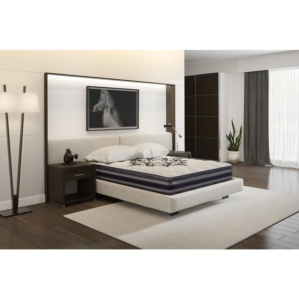 Signature Sleep Restore 10-inch Independently Encased Coil Full Mattress with CertiPUR-US Certified Foam