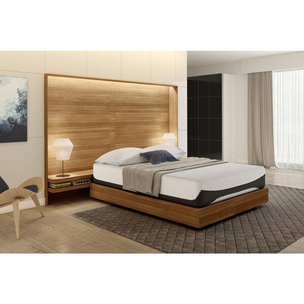 Signature Sleep Bliss 12-inch Gel Memory Foam Mattress. Opens flyout.