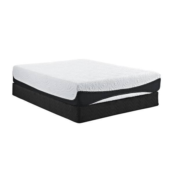 Shop Signature Sleep Bliss 12 Inch Gel Memory Foam Mattress