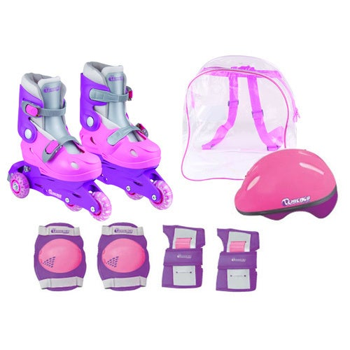 Chicago Girls Training Skate Combo (Size J10-J13), Pink
