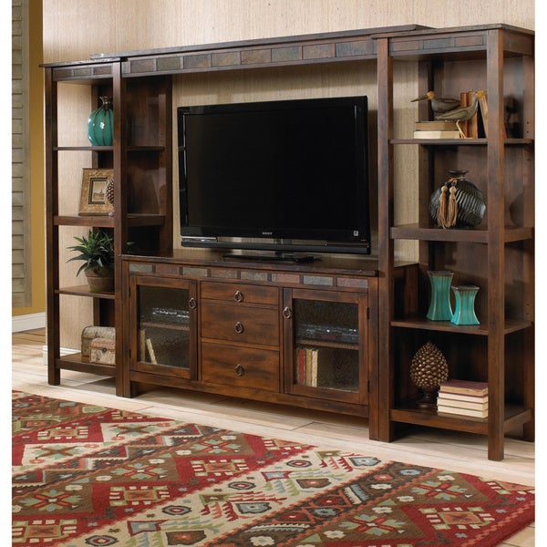 Shop Sunny Designs Santa Fe Tv Console With Game Drawer