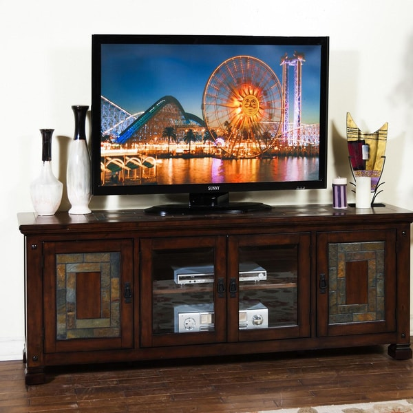 Sunny Designs Dark Hazelnut TV Console