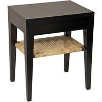 Julia Mahogany Wood Side Table
