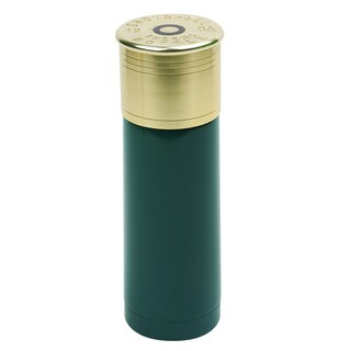 25-ounce 12-gauge Green Shotgun Shell Termal Bottle