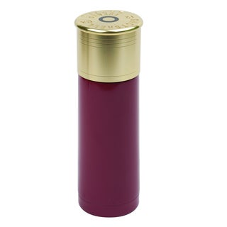 25-ounce Red 12-gauge Shotgun Shell Thermal Bottle