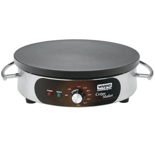 Waring Commercial WSC160 Heavy-Duty Commercial Electric Crepe Maker, 16-Inch (Refurbished)