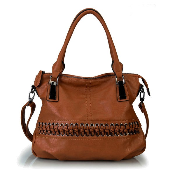 Rimen & Co. Laced-Front Tote Handbag - Free Shipping Today ...