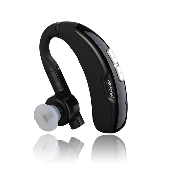 Mpow FreeGo Wireless Bluetooth 4.0 Headset Headphone With Clear Voice Capture Technology And