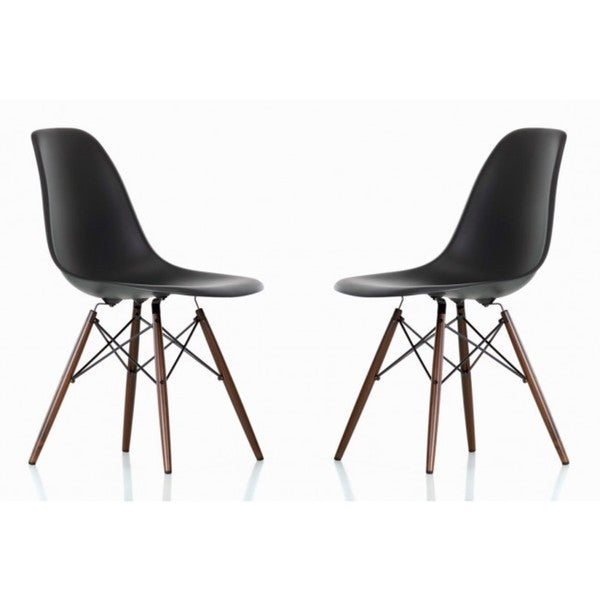 Shop Contemporary Retro Molded Style Black Accent Plastic
