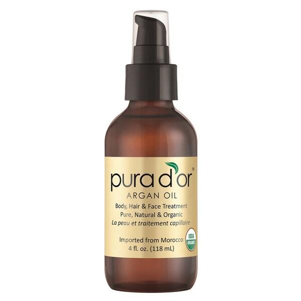 Pura d'or Argan Oil 4-ounce Organic Argan Oil