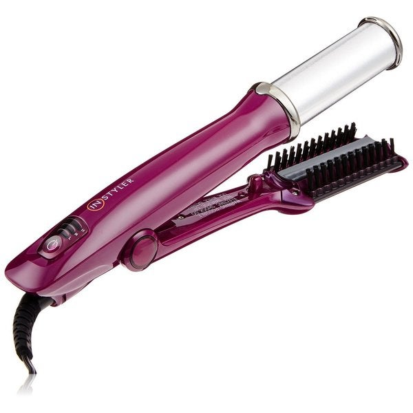 Original InStyler 1.25-inch Rotating Purple Styling Iron - Free Shipping Today - Overstock.com ...