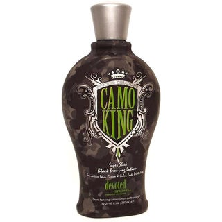 Devoted Creations CAMO KING Black 12.25-ounce Bronzing Lotion