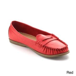 Refresh Women's Martino-01 Comfort Slip-on Loafers