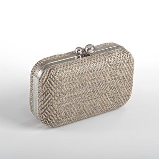 Herringbone Design Clutch