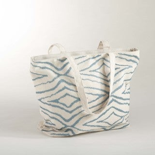 Embroidered Design Tote Bag