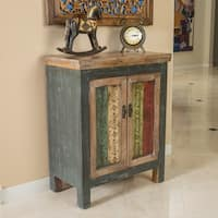 Everest Two-Drawer Wood Cabinet by Christopher Knight Home