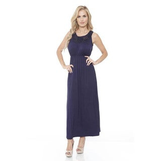 White Mark Women's 'Katherine' Maxi Dress