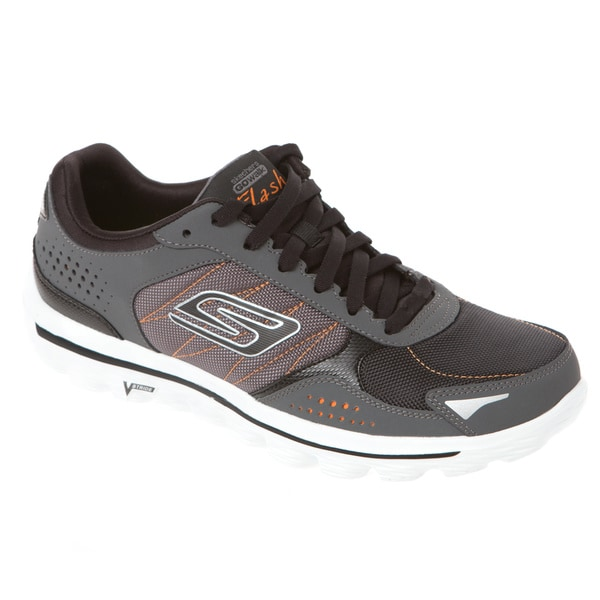 Shop Skechers Go Walk 2 Lace Up Leather Textile Walking
