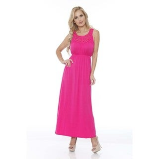 White Mark Women's 'Katherine' Maxi Dress (More options available)