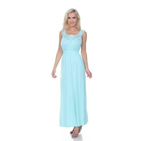 White Mark Women's 'Katherine' Maxi Dress
