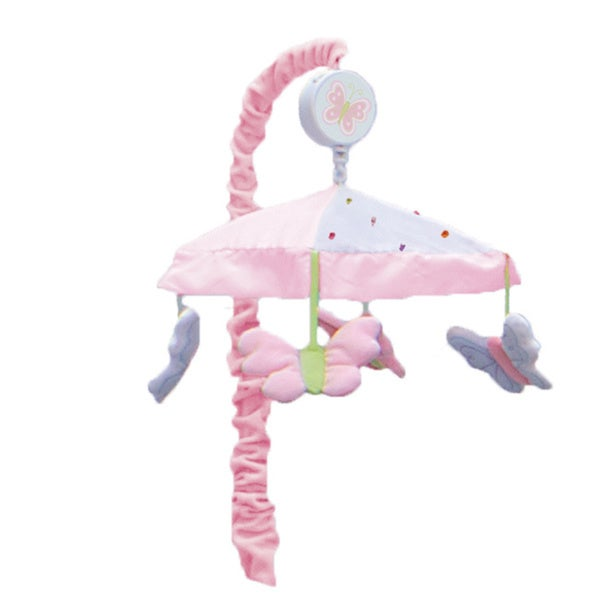 Nurture Butterfly Garden Wings Musical Crib Mobile