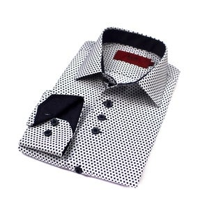 Elie Balleh Boys' 2015 Style Polyester and Rayon Slim Fit Collared Dress Shirt (More options available)