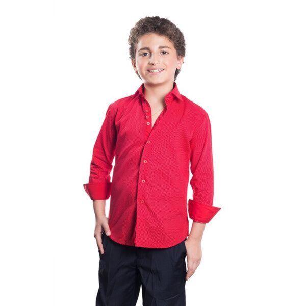 Elie Balleh Brand Boy's Style Slim Fit Shirt