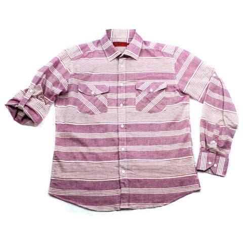 Elie Balleh Brand Boy's 2015 Style Slim Fit Shirt